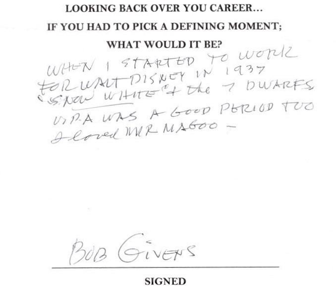 Bob Givens
