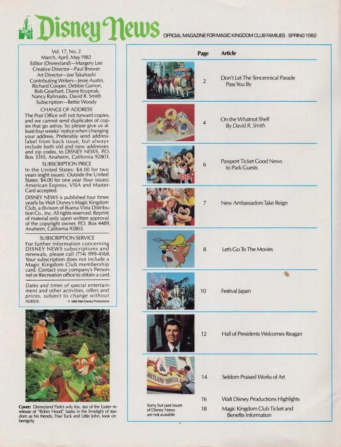 Disney Mag Robin Hood 1