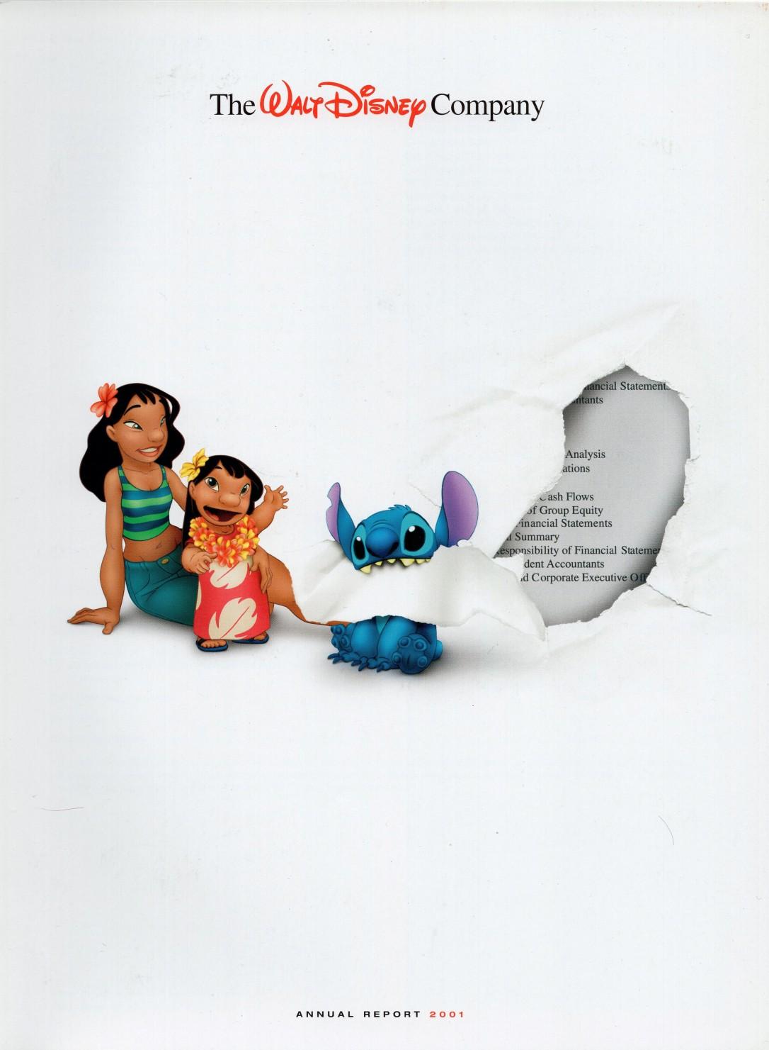 Disney Report 2001