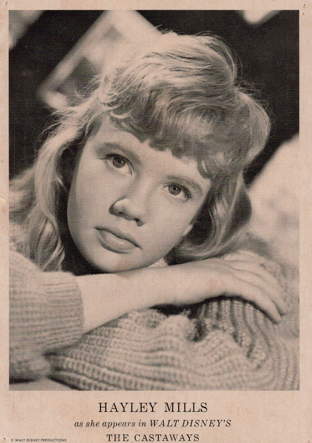 Hayley Mills In Search of the Castaways