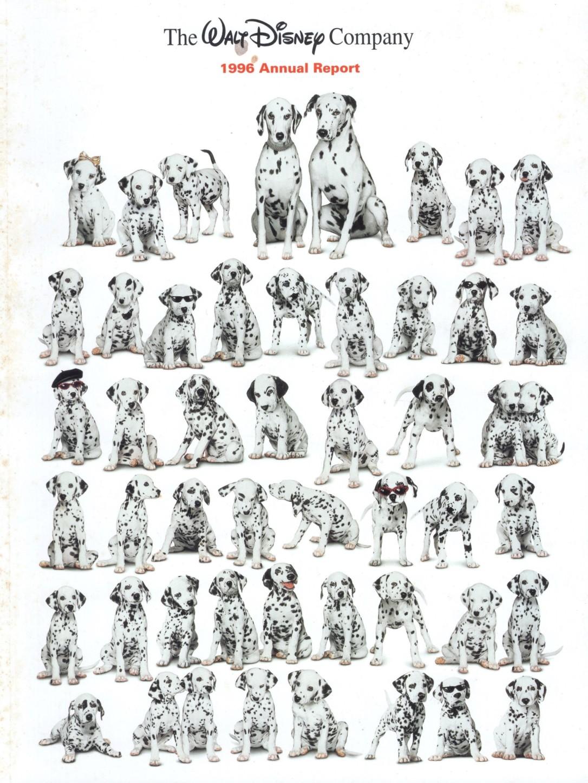 101 Dalmatians Annual Report