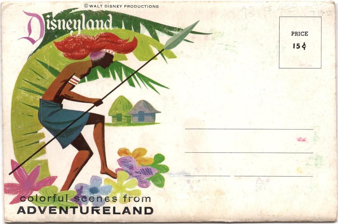 Adventureland Postcard Booklet