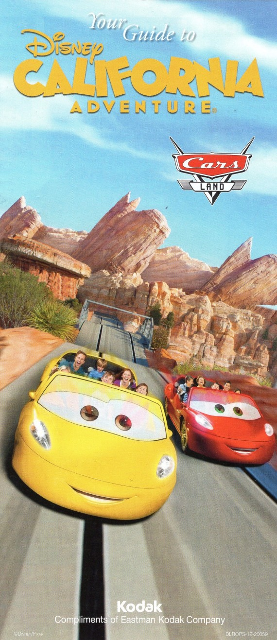 Cars Land Opening