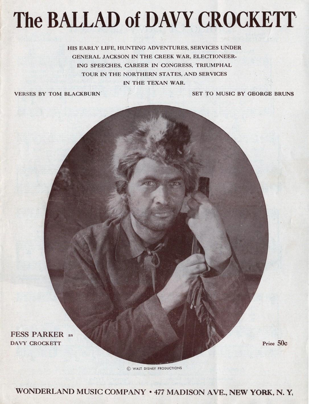 Davy Crockett Sheet Music