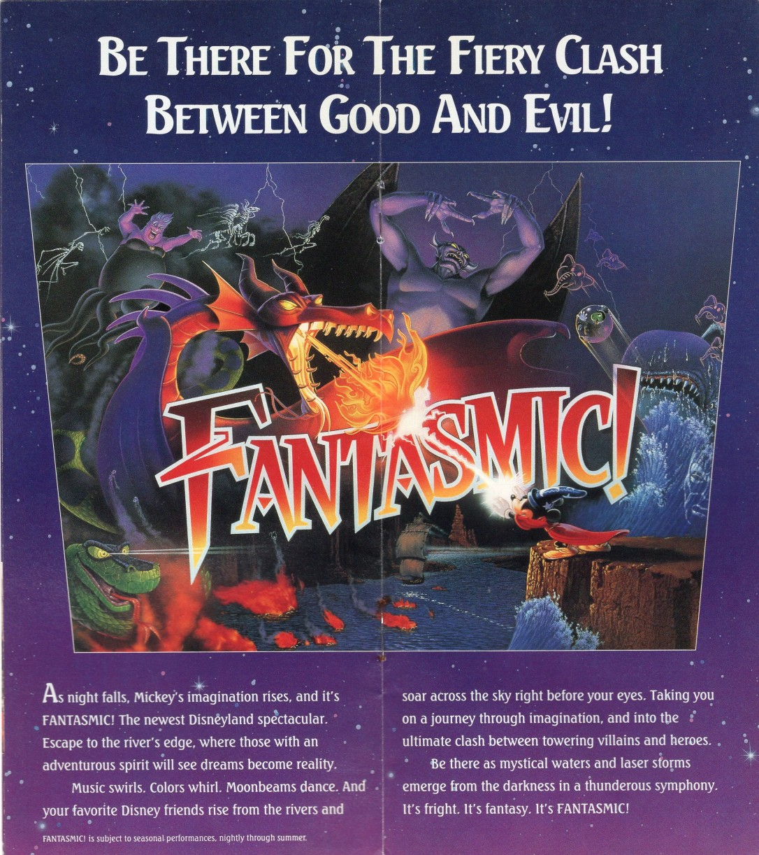 Fantasmic Brochure