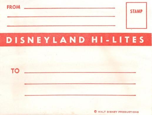 Hi Lites Envelope
