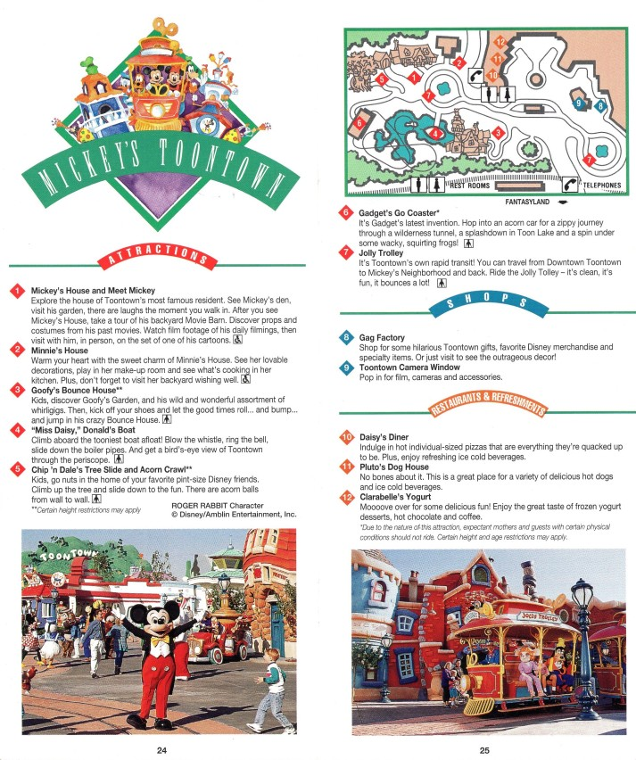 Toontown Map Interior