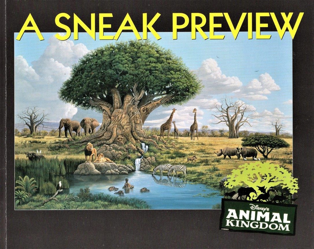 Animal Kingdom Sneak Preview Book