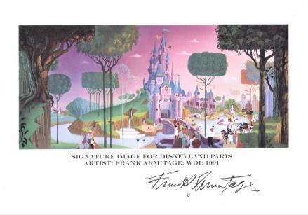 Disneyland Paris Frank Armitage