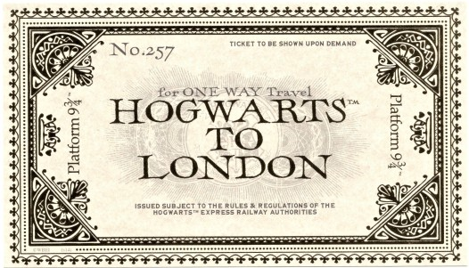 Hogwarts to London