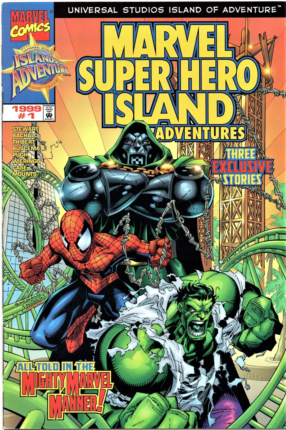 Islands of Adventure Comic Book