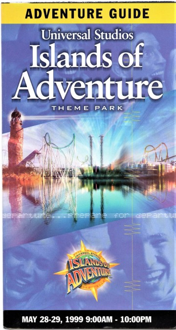 Islands of Adventure Opening Day Cover