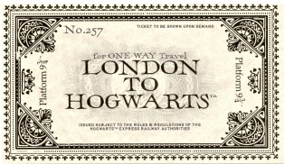 London to Hogwarts