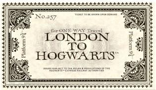 London to Hogwarts