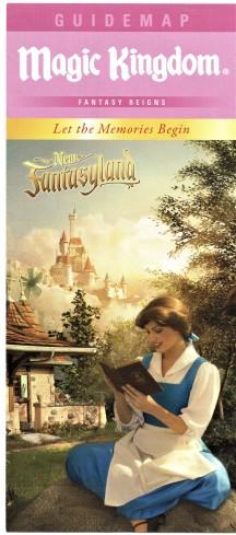 New Fantasyland Belle