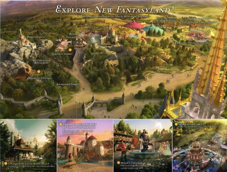 New Fantasyland Interior