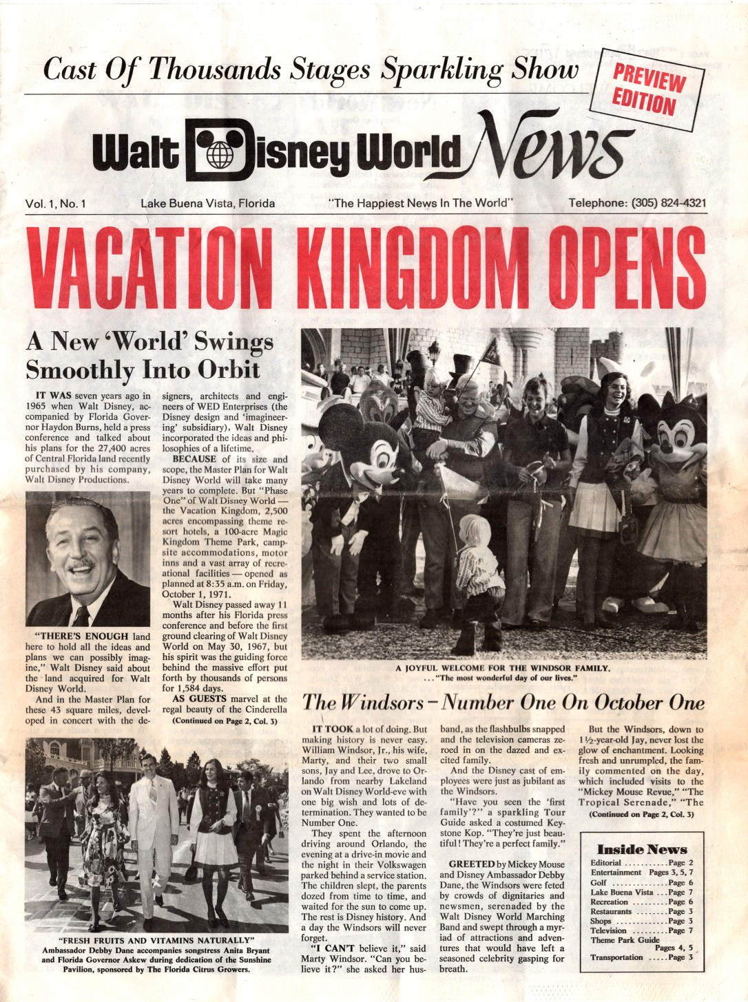 WDW News Cover