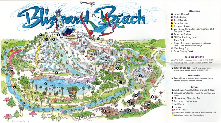Blizzard Beach Interior